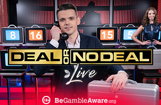 Deal or not deal live