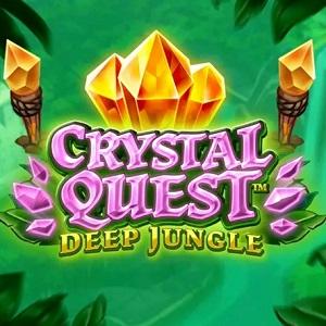 Nýja spilavélin Crystal Quest: Deep Jungle frá Thunderkick